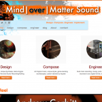 "Portfolio Screenshot #1 - ""Mind over Matter Sound"""