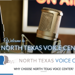 "Portfolio Screenshot #1 - ""North Texas Voice Center"""