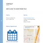 "Portfolio Screenshot #6 - ""North Texas Voice Center"""